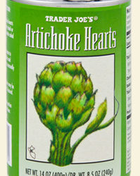 Trader Joe's Canned Artichoke Hearts