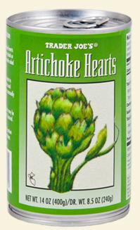 Trader Joe's Canned Artichoke Hearts Reviews