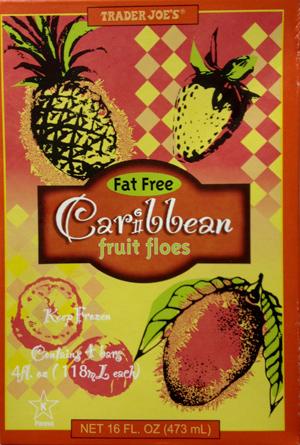 Trader Joe's Caribbean Fruit Floes