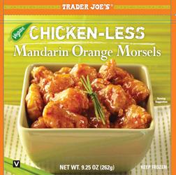 Trader Joe's Chicken-less Mandarin Orange Morsels
