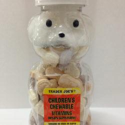 Trader Joe's Childen's Chewable Vitamins