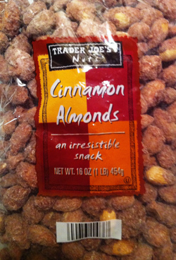 Trader Joe's Cinnamon Almonds