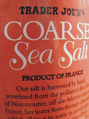 Trader Joe's Coarse Sea Salt