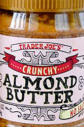 Trader Joe's Crunchy Almond Butter