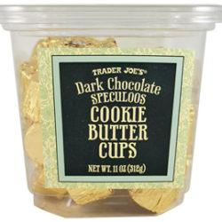 Trader Joe's Dark Chocolate Cookie Butter Cups