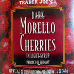 Trader Joe's Dark Morello Cherries