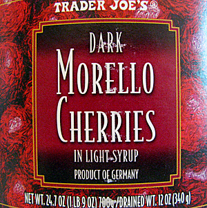 Trader Joe's Dark Morello Cherries