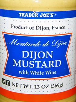 Trader Joe's Dijon Mustard With White Wine