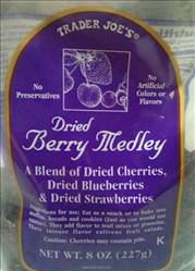 Trader Joe's Dried Berry Medley