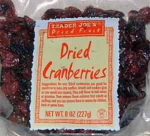 Trader Joe's Dried Cranberries