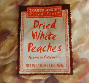 Trader Joe's Dried White Peaches