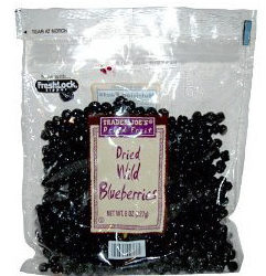 Trader Joe's Dried Wild Blueberries