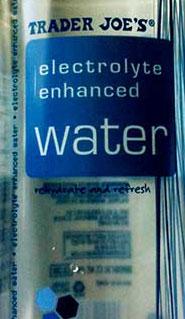 Trader Joe's Electrolyte Enhanced Water