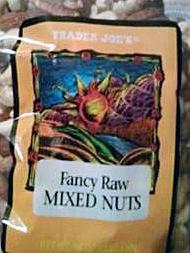 Trader Joe's Fancy Raw Mixed Nuts