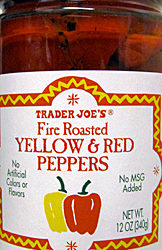 Trader Joe's Fire Roasted Yellow & Red Peppers