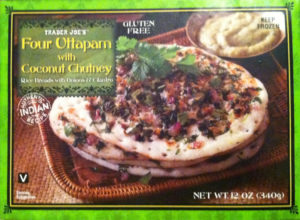 Trader Joe's Four Uttapam with Coconut Chutney