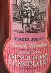 Trader Joe's French Market Sparkling French Berry Lemonade