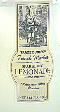 Trader Joe's French Market Sparkling Lemonade