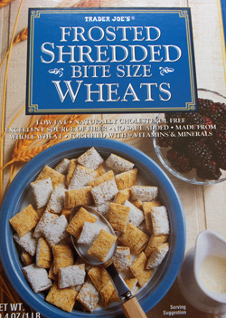 Trader Joe's Frosted Bite-Size Shredded Wheat