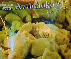 Trader Joe's Frozen Artichoke Hearts