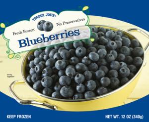 Trader Joe's Frozen Blueberries