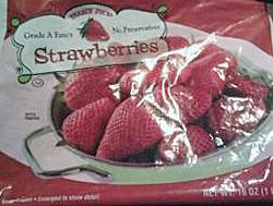 Trader Joe's Frozen Strawberries