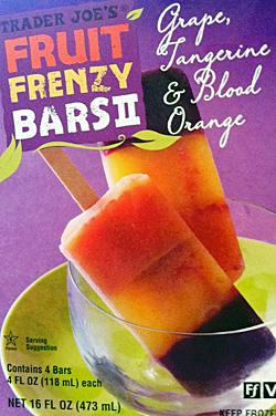 Trader Joe's Fruit Frenzy Bars II