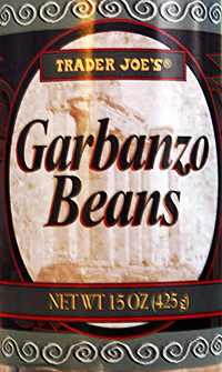 Trader Joe's Garbanzo Beans