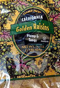 Trader Joe's Golden Raisins