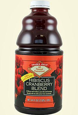 Trader Joe's Hibiscus Cranberry Blend Juice