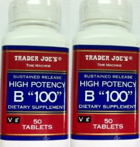 "Trader Joe's High Potency B ""100"""