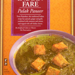 Trader Joe's Indian Fare Palak Paneer