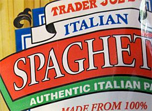 Trader Joe's Italian Spaghetti