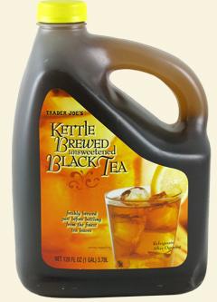 Trader Joe's Kettle-Brewed Unsweetened Black Tea