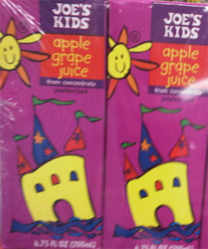 Trader Joe's Kids Apple Grape Juice
