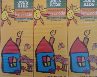 Trader Joe's Kids Lemonade