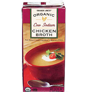 Trader Joe's Organic Low Sodium Chicken Broth