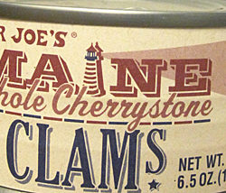 Trader Joe's Maine Whole Cherrystone Clams