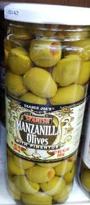Trader Joe's Manzanilla Olives
