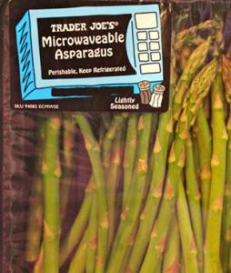 Trader Joe's Microwaveable Asparagus