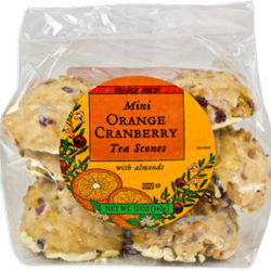Trader Joe's Mini Orange Cranberry Tea Scones
