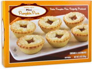 Trader Joe's Mini Pumpkin Pies