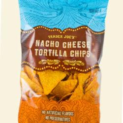 Trader Joe's Nacho Cheese Tortilla Chips