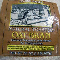 Trader Joe's Natural Toasted Oat Bran