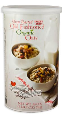 Trader Joe's Old Fashioned Organic Oats