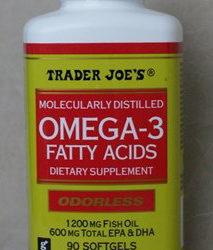 Trader Joe's Omega 3 Fatty Acids