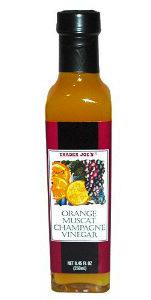Trader Joe's Orange Muscat Champagne Vinegar