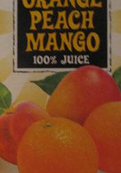 Trader Joe's Orange Peach Mango Juice