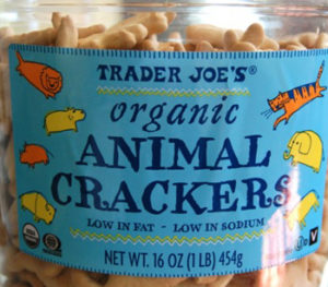Trader Joe's Organic Animal Crackers