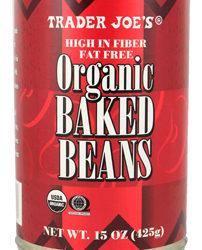 Trader Joe's Organic Baked Beans